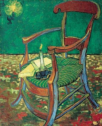 van gogh Gauguins chair