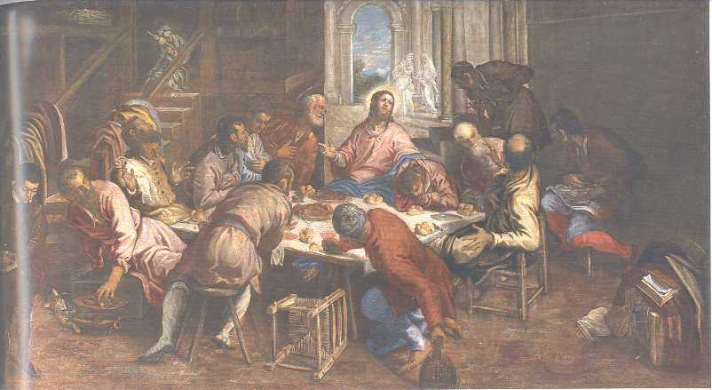 The last supper da vinci descriptive essay