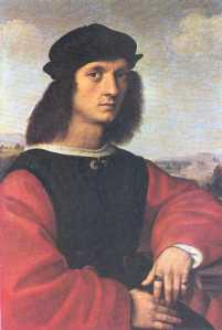 portrait of Agnolo Doni