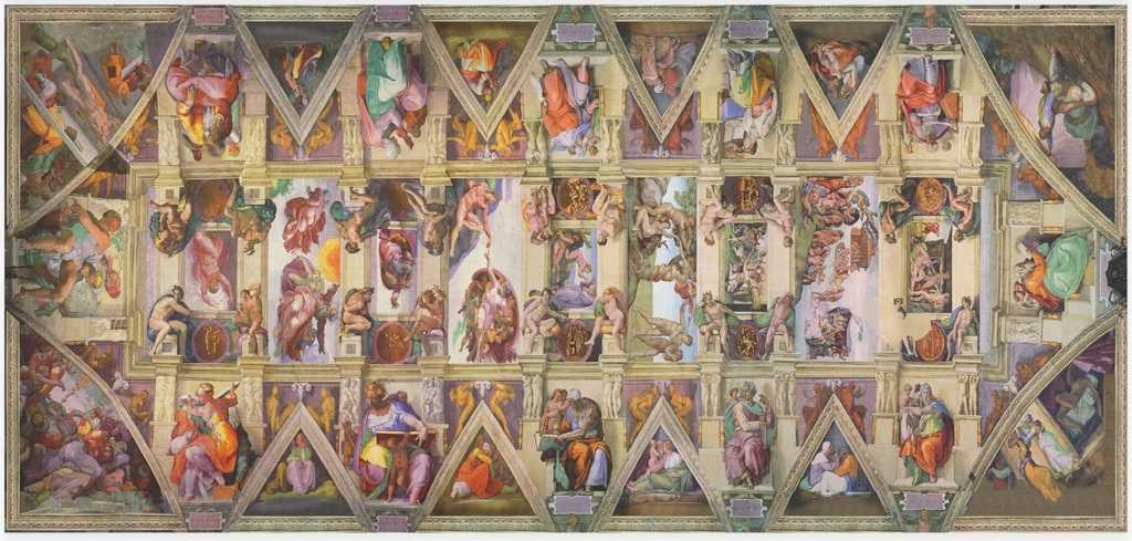 The Sistine Chapel Cleaning Job The Best Artists