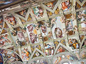 Sistine Chapel After Restoration The Sistine Ceiling After Restoration