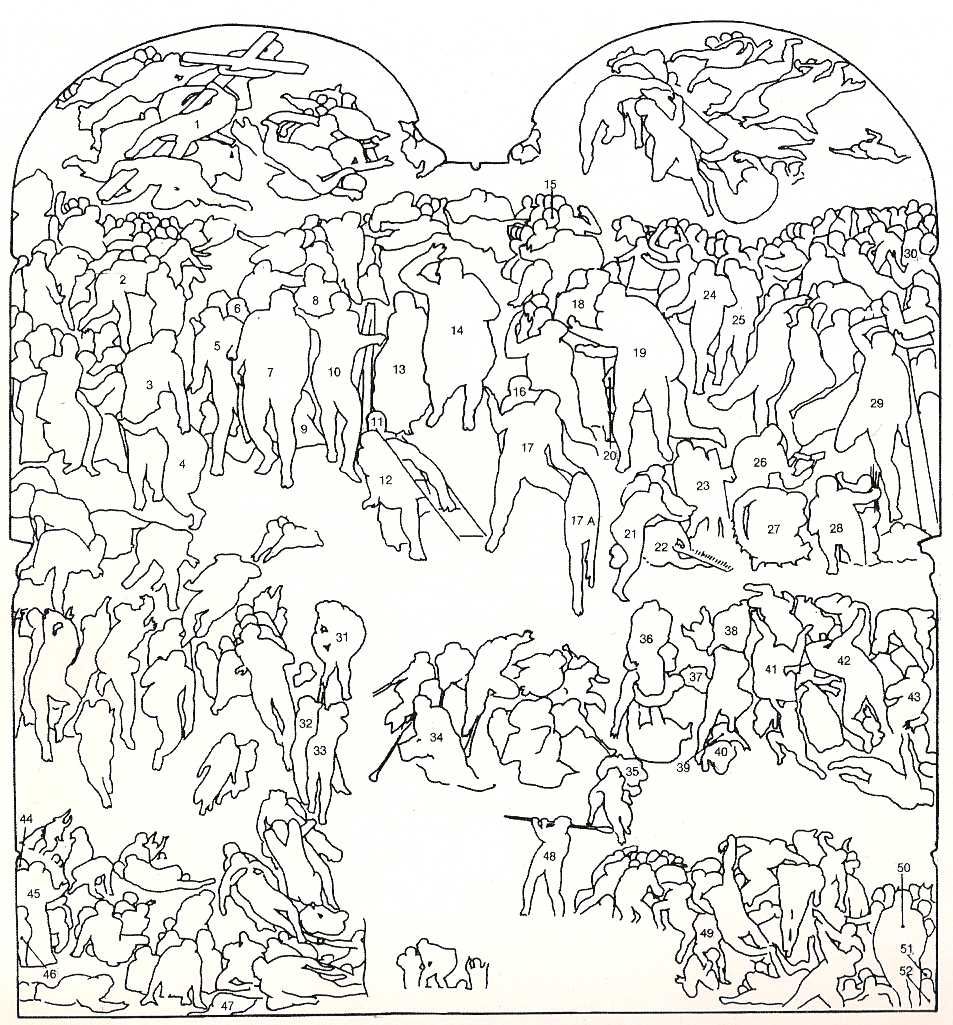 who u0027s who in the last judgment the best artists