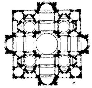 bramante's design for st peter's