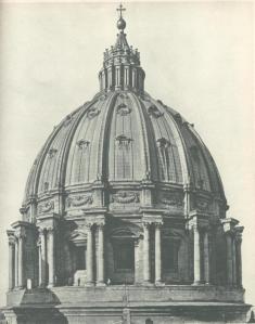 Della Porta's cupola St. Peter's