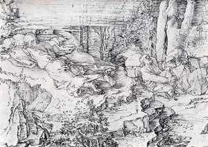 Durer  Christ_On_The_Mount_Of_Olives_1521