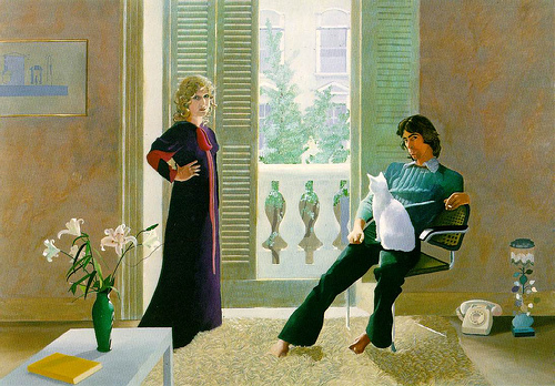hockney mr and mrs clark