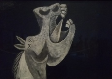 guernica horse