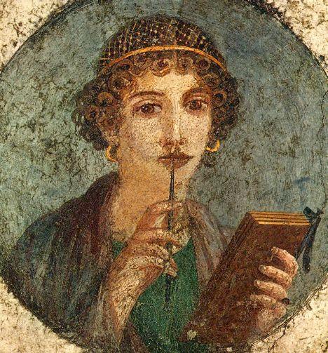 TEXTOS DE LA LITERATURA GRIEGA Sappho-herculaneum