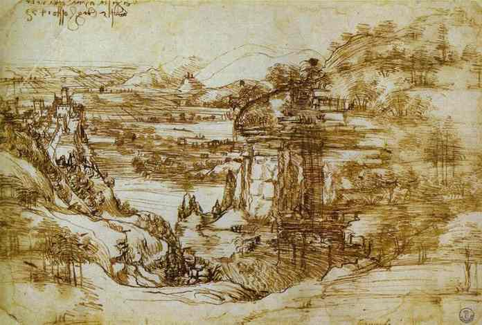 Leonardo's Mysterious Landscapes | The Best Artists Da Vinci Paintings Secrets