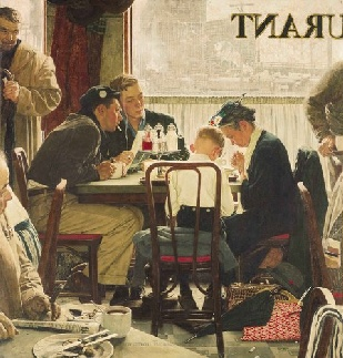 Saying_Grace,_Norman_Rockwell