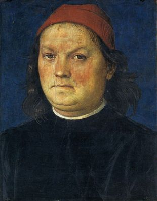Self-portrait by Pietro Perugino