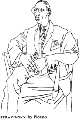 Stravinski by Picasso
