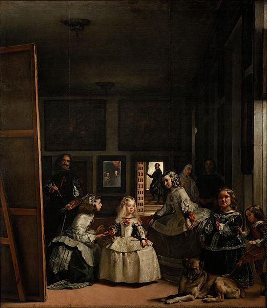 Las Meninas by Diego Velazquez 318 cm × 276 cm (125.2 in × 108.7 in)