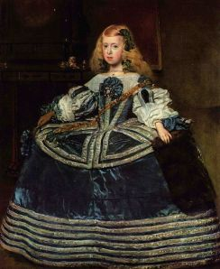 Infanta Margarita, aged eight, by Diego Velazquez