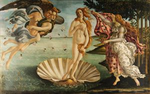 The Birth of Venus by Botticelli, 1486