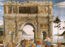 Arch of Constantine by Botticelli