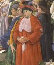 Giuliano della Rovere , future Pope Julius II